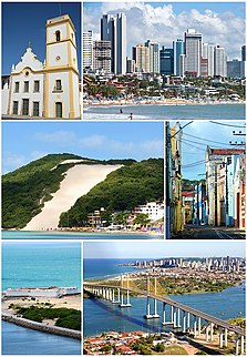 Natal, Rio Grande do Norte Municipality in Northeast, Brazil