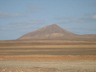 Monte Grande (Sal) mountain in Cape Verde