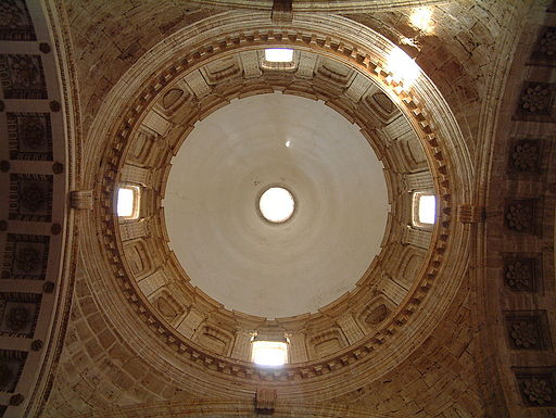 San Biagio, interno della cupola