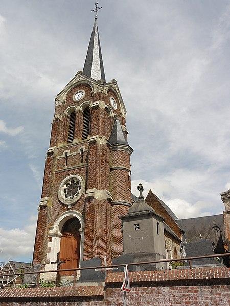 Montigny-sur-Crécy (Aisne) église