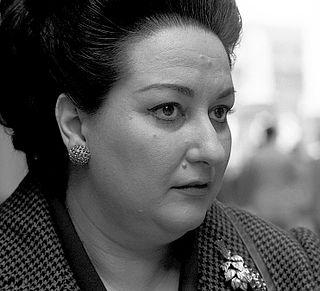 Montserrat Caballé Spanish operatic soprano