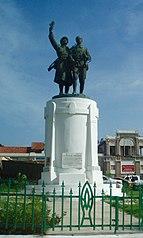 Monument Demba et Dupont