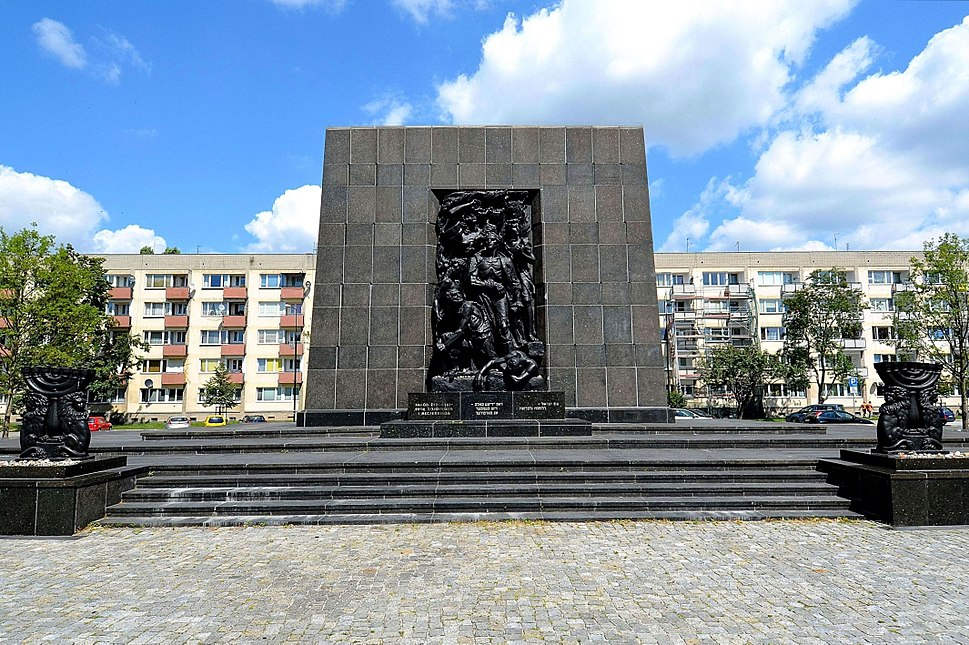 Monument to the Ghetto Heroes in Warsaw 05