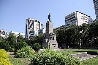 Joaquim Marques Lisboa, Marquis of Tamandaré - Image: Monumento ao Almirante Tamandaré I