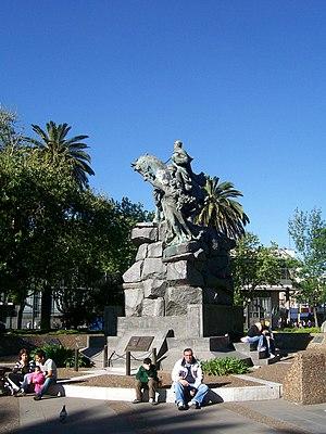 San Martín, Buenos Aires - Image: Monumentoasanmartin