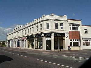 Moordown - Mayfield Park Buildings, at 929-943 Wimborne Road