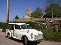 Morris Minor Traveller 1000 at Slaughterford, Wiltshire- 445780.jpg