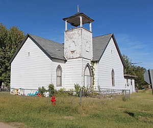 National Register of Historic Places listings in Noble County, Oklahoma - Image: Morrison Baptist Church