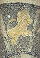 Mosaic in Maltezana at Analipsi, Astypalaia, 5th c AD, Leo Astm21.jpg