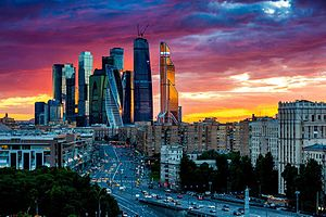 Economy of Russia - Image: Moscow City 2015