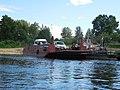 Motorboat by Verkhnaya Dvina, Kotlas - Toima - panoramio (69).jpg