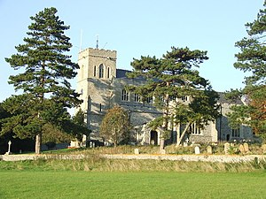 Moulton, Suffolk - Image: Moulton Church of St Peter