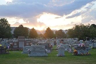 Mount Olivet Cemetery (Wheat Ridge, Colorado) - Mount Olivet Cemetery
