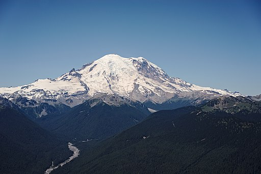 Mount Rainier from the Silver Queen Peak
