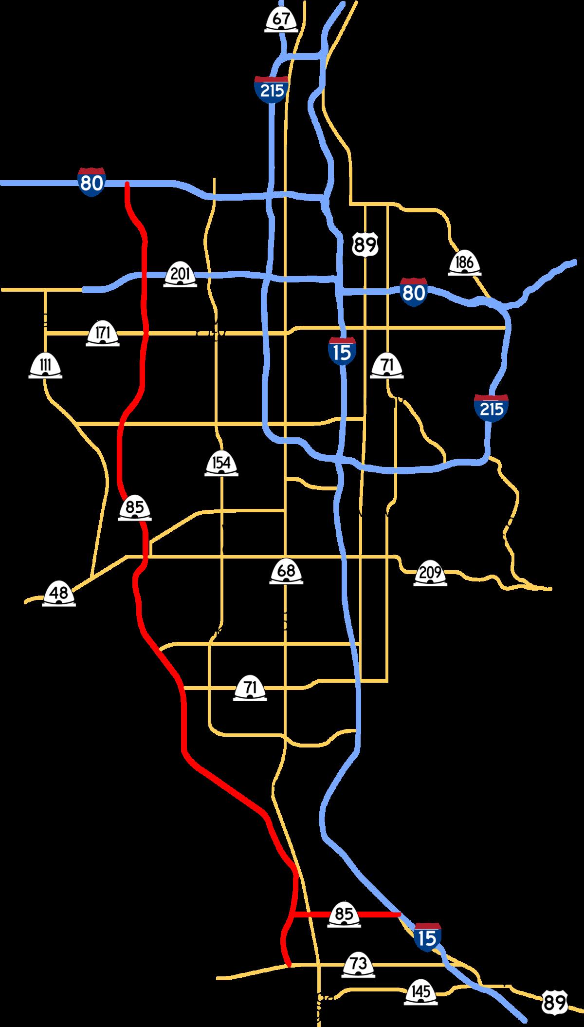 Mountain View Corridor - Wikipedia