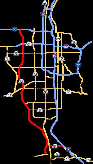 Mountain View Corridor - Image: Mountain View and region