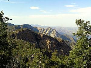 Sierra de San Pedro Mártir National Park - Image: Mountains 02 Sierra San Pedro Martir Baja California Mexico