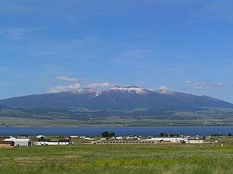 Big Belt Mountains - Mt. Baldy and the Big Belt range near Townsend, Montana
