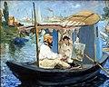 Muenchen Neue Pinkakothek Monet the Barge.jpg