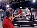 Multimedia Team at Exploratorium - Fabrice and Giant Mirror.jpg