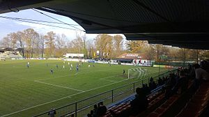 2012–13 Slovenian PrvaLiga - Mura 05 and Domžale at Fazenarija stadium on 8 November 2012.