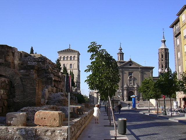 Murallas romanas de Cesaraugusta y Torre de la Zuda