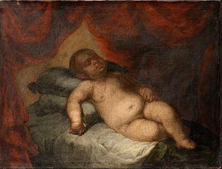 The Infant Christ Asleep