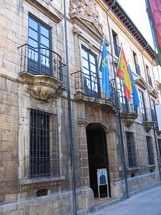 Oviedo - Fine Arts Museum of Oviedo of the Asturies.