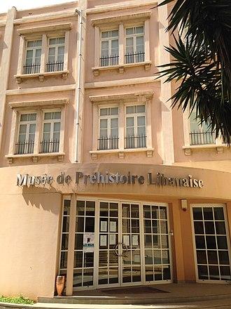 Saint Joseph University - The Museum of Lebanese Prehistory