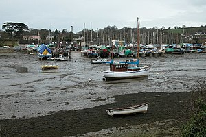 Mylor, Cornwall - Mylor Creek