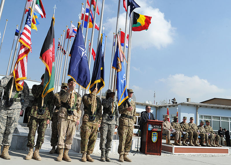 File:NATO Training Mission Afghanistan command changes hands (6315323409).jpg