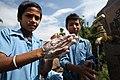 NEWAH WASH water project in Puware Shikhar, Udayapur District, Nepal. (10710674044).jpg