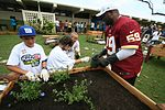 NFL players plant new healthy roots in children's lives 130124-M-NP085-002.jpg