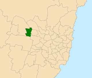 Electoral district of Mount Druitt