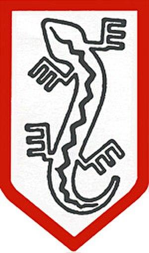 Military Organization Lizard Union - The organization's Lizard symbol