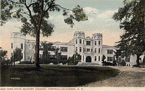 New York Military Academy - NYMA Academic Building (c.1916 postcard)