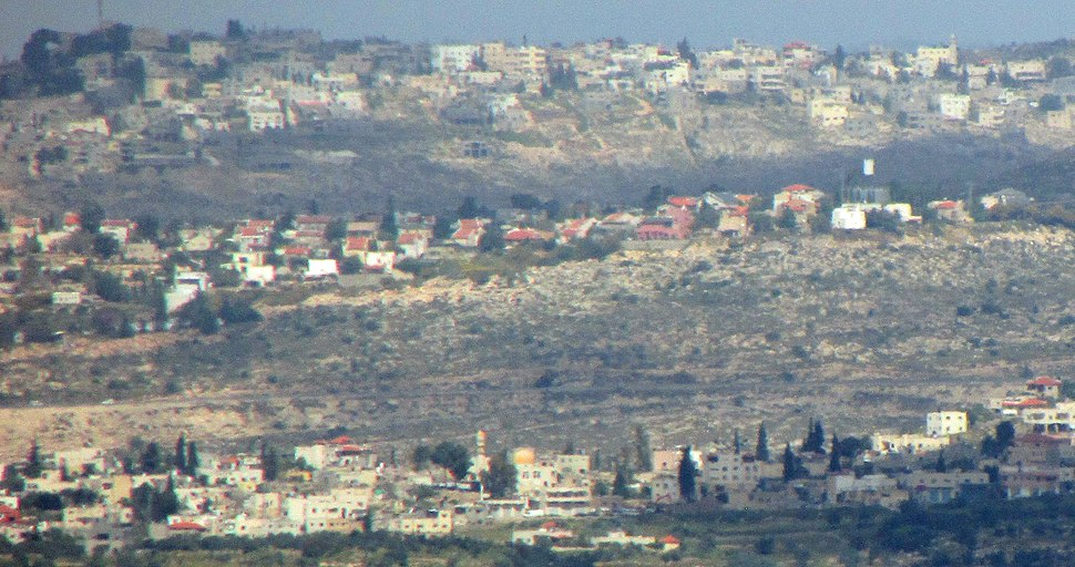 Naaleh view from south