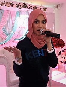 Nabila Razali at party.jpg