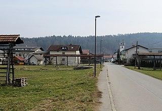 Nadgorica Place in Upper Carniola, Slovenia