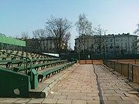 Nadwiślan Kraków tennis grandstands