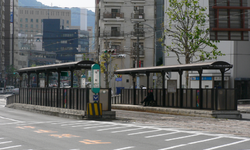 Nagasaki Electric Tramway station 44 Sakura machi.png