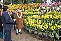 Narendra Modi inaugurates the orchid display and seasonal flowers exhibition, in Gangtok. The Chief Minister of Sikkim, Shri Pawan Kumar Chamling and the Minister of State for Development of North Eastern Region (IC).jpg