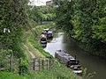 Narrowboats on the Chesterfield Canal - geograph.org.uk - 1540641.jpg