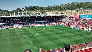 2015–16 Segunda División - Gimnàstic–Leganés at Nou Estadi