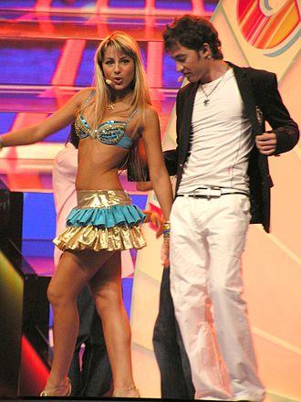 Arsenie Todiraș - Arsenie with Natalia Gordienco while performing at Eurovision