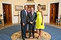 Navinchandra Ramgoolam with Obamas 2014.jpg