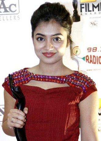 Nazriya Nazim - Nazriya Nazim at the 61st Filmfare Awards South