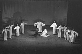 <i>Black Nativity</i> play written by Langston Hughes
