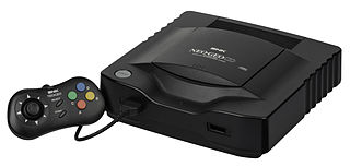 Neo Geo CD video game console