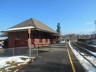 Netcong station NJ Transit station in Netcong, New Jersey